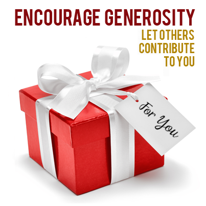 encourage generosity dona nd jay